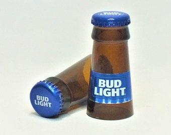 Bud Light Shot Glasses - Cerveza,- Guy Beer Mug Unique Gift tumblers Budlight