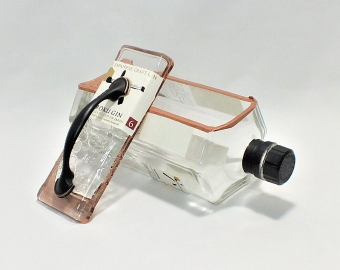 Roku Gin Bottle Box - The Japanese Craft Gin - Snack Bowl, Party or Candy Dish - Nuts Bowl - Booze - Licor - Jewelry Box - Empty Ships Free!
