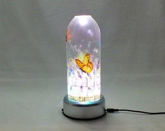 Spring Seasonal Bottle Lamp - 16 Color Changing Light RGB LED Remote Controlled - Bar Light - Glass Bottle - Decorative - Free Shipping