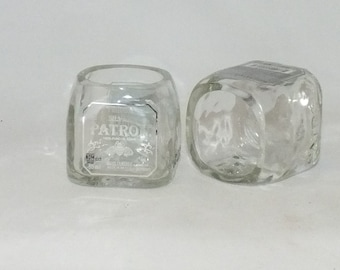 Patron Tequila Mini Bottle Shot Glass - 50ml bottles  - Fathers Mothers gift - Best Liquor - Mini Shot Glasses