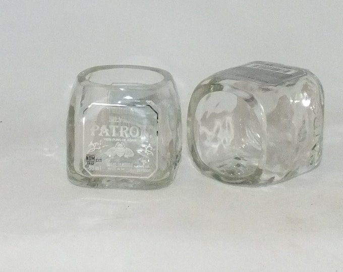 Patron Tequila Mini Bottle Shot Glass - 50ml bottles  - Fathers Mothers gift - Best Liquor - Mini Shot Glasses