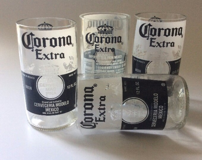 Corona Extra Bottles Glasses - Cerveza - Guy Beer Mug Unique Gift tumblers Mexico
