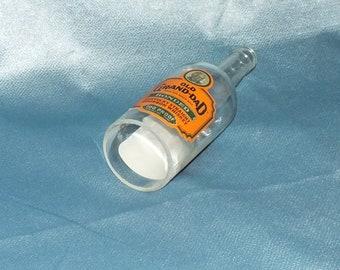 Old Grand Dad bourbon Cut Bottle Hanging Light - lamp - Cut Liquor Bottles - Chandelier Granddad