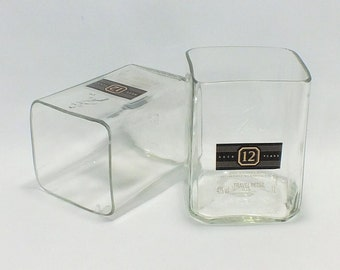 Johnnie Walker Black Label Cut Bottle Rocks Glass (1). Johnny walker 12 year old blended scotch whiskey