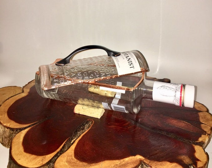 The Botanist Gin liquor bottle box, Snack Bowl, Party or Candy Dish - Nuts Bowl - Booze - Licor - Jewelry Box - Cigars