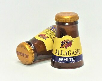 Allagash Shot Glasses - White Beer - Cerveza,- Guy - Beer Mug - Unique Gift - Tumblers - Craft beers