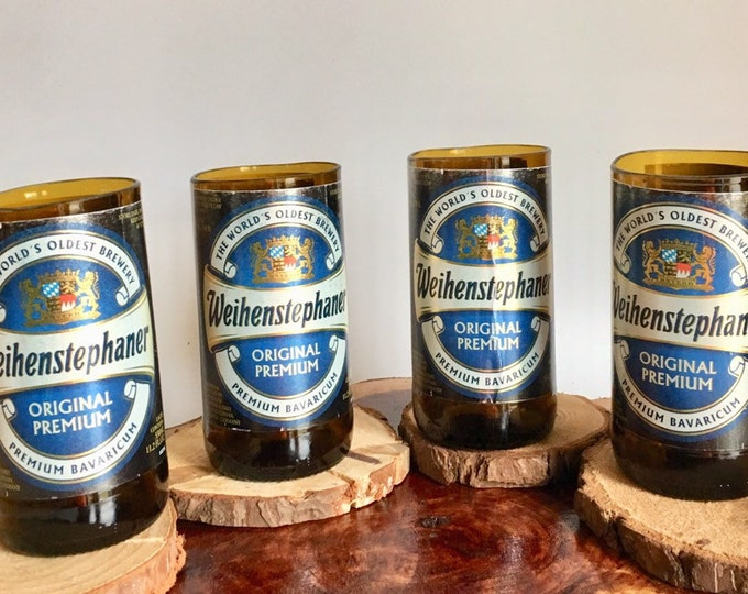 Weihenstephaner Beer Bottles Glasses and Shot Glasses - Cerveza,- Guy Beer Mug Unique Gift tumblers- German bier