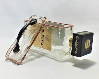 Disaronno Originale liquor bottle box, Snack Bowl, Party or Candy Dish - Nuts Bowl - Booze - Licor - Jewelry Box - Cigars - Empty