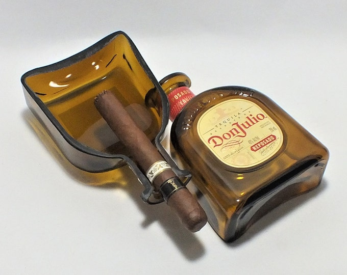 Don Julio Reposado Cigar Ashtray - Reservado Tequila Bottle - Nuts Bowl - Jewelry box - Catch it all - Ash tray