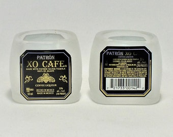 Patron XO Cafe Mini Bottle Shot Glass - Patron - tequila - Fathers Mothers gift - Best Vodka - Sweden