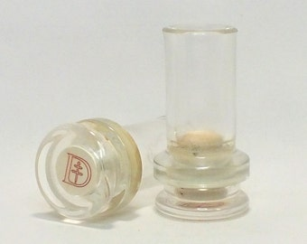 D'USSE Shot Glasses - Empty Cut D'USSE Cognac VSOP Liquor Bottle Top Glass - Gift - Collectible