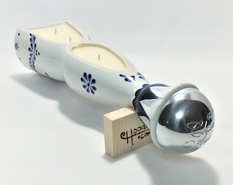 Clase Azul Boat Candle - Tequila - Reposado Tequila - Scented Soy Wax -  Empty Cut - Whisky Gift FREE SHIPPING!