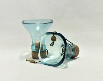 Johnnie Walker Blue Label Scotch Liquor Bottle Shot Glasses - Gift - Scotch - Collectible - Blue Label