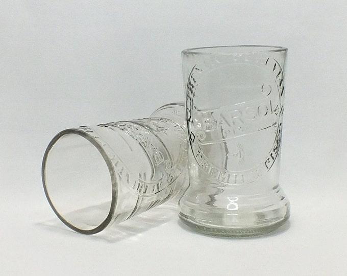 Barsol Pisco Rocks Glass (1) - Liquor Bottle - Rocks Glasses - Drinking Glasses - Upcycled Glasses