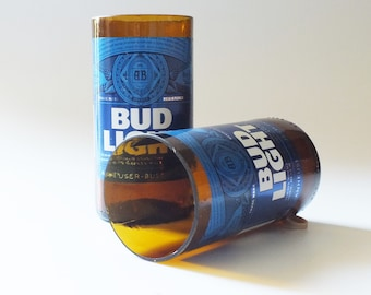 Bud light Beer Bottles Glasses and Shot Glasses - Cerveza,- Guy Beer Mug Unique Gift tumblers Budlight