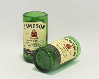Jameson Mini Bottle Shot Glass - Smooth Irish Whiskey - Triple Distilled - Fathers Mothers gift