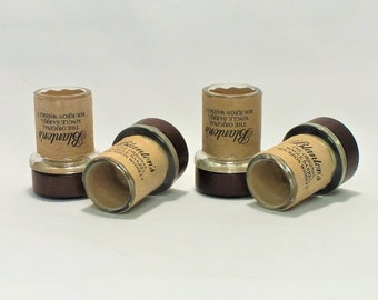 Blanton's Shot Glasses - Empty Cut Blanton's Whiskey Bourbon Liquor Bottle Top Glass - Gift - Bourbon - Collectible - Single Barrel Blantons