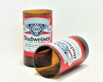 Budweiser Beer Bottles Glasses - Cerveza - Guy Beer Mug Unique Gift tumblers Bud