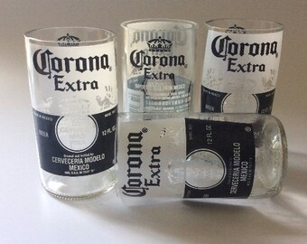 Corona Extra Bottles Glasses - Cerveza - Guy Beer Mug Unique Gift tumblers Mexico