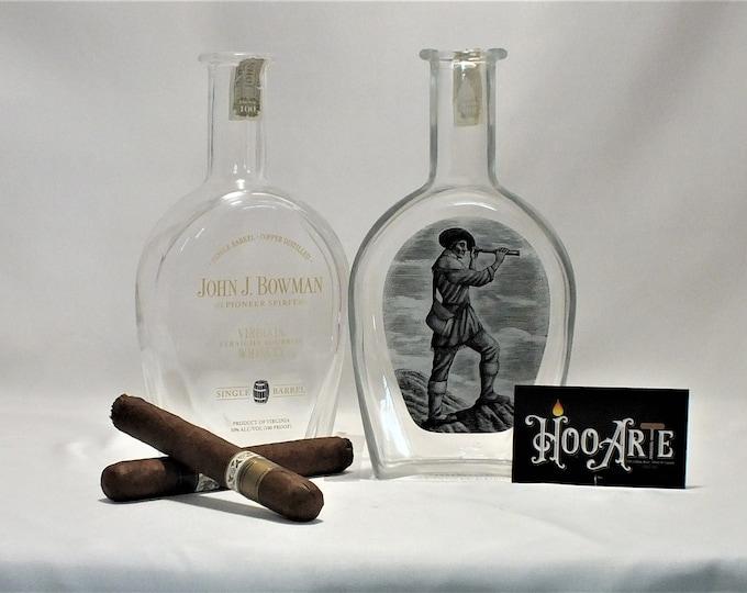 John J. Bowman Cigar Ashtray - Nuts Bowl - Jewelry box - Catch it all - Bourbon Whiskey Single Barrel - Ash Tray - Liquor