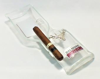 Two (2) Dalmore 12 Cigar Ashtray - Highland Single Malt Scotch Whiskey - Nuts Bowl - Jewelry box - Catch it all - Ash tray