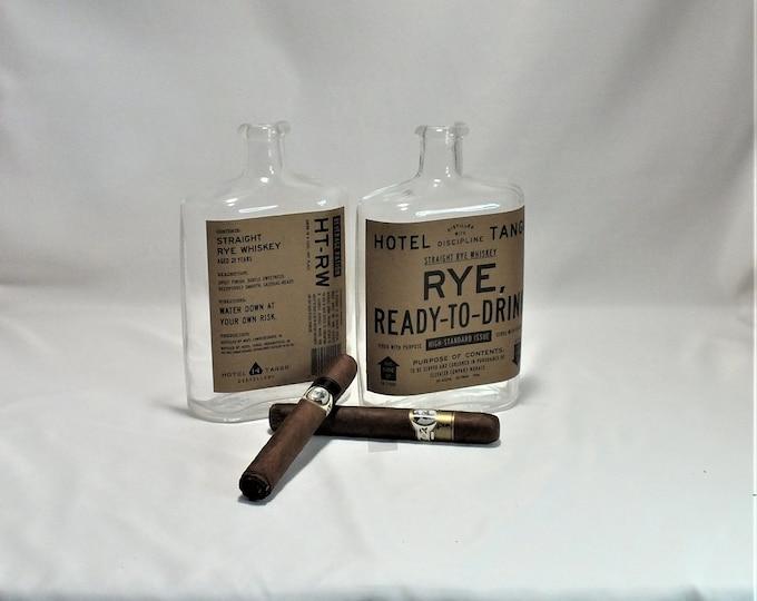 Two (2) Hotel Tango Rye - Straight Rye Whiskey - Nuts Bowl - Jewelry box - Catch it all - Ash tray