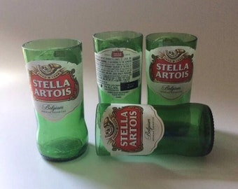 Stella Artois Beer Bottles Glasses - Cerveza - Guy Beer Mug Unique Gift tumblers - Belgium Beer