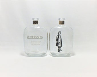 Jefferson's Cigar Ashtray - Nuts Bowl - Jewelry box - Catch it all -  Kentucky Straight Bourbon Whiskey Very Small Batch - Ash Tray - Liquor