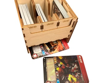 Deck Box with Large Card Storage