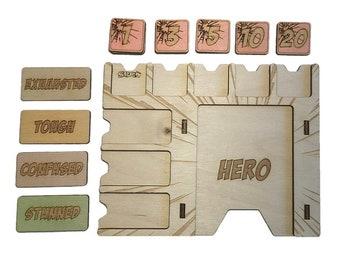 Marvel Champions Hero Player Board