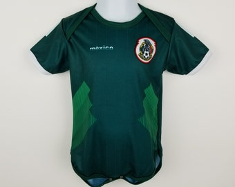 a00531387fa Mexico National Soccer Team Baby Jersey Overall Mameluco