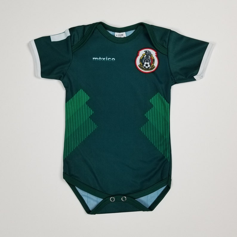 lowest price 6887f 829bf Mexico Baby Jersey, Green Mexico Jersey, Mexico National Soccer Team,  2018-2019 Mexico Jersey