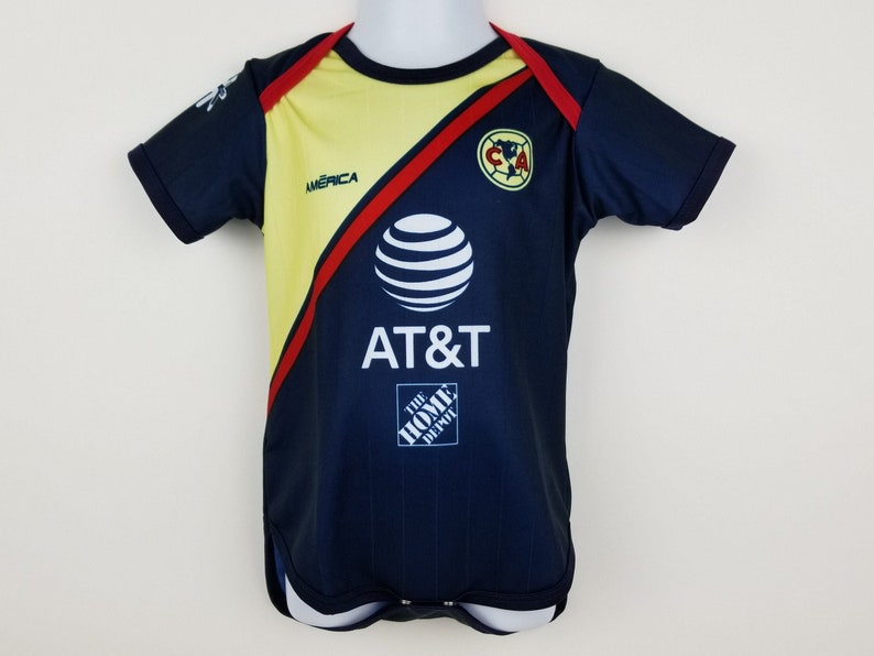 detailed look 91509 91d0a Club America Baby Jersey, Soccer Jersey, Aguilas del America Jersey, Baby  bodysuit, 2018-2019 Away America Jersey