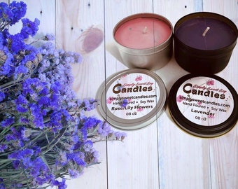Tin Can Soy Candle
