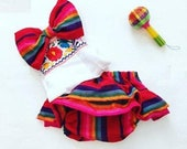 Baby Girls Mexican Outfit