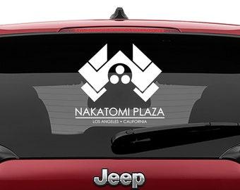 Die Hard Inspired Nakatomi Plaza Vinyl Decal