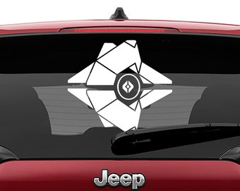 Destiny Ghost Vinyl Decal | Destiny Ghost Tumbler Decals | Destiny Ghost Laptop Decal