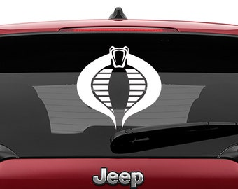 Cobra Command G.I. Joe Vinyl Decal Sticker Car Laptop