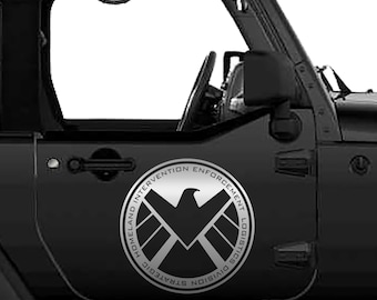 Agents of SHIELD Logo Vinyl Decal | Agents of Shield Tumbler Decals | Agents of Shield Logo Vinyl Decal