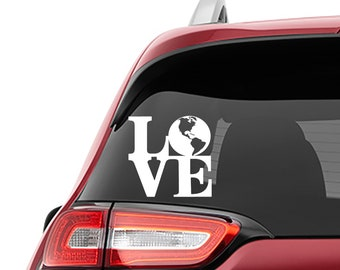 Love Mother Earth Vinyl Decal | Love Mother Earth Tumbler Decal | Love Mother Earth Laptop Decal