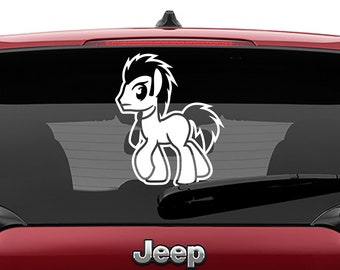 MLP Dr Whooves Decal | MLP Dr Whooves Tumbler Decal | MLP Dr Whooves Laptop Decal