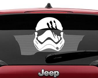Star Wars Inspired Force Awakens Storm Trooper FN2187 Finn Helmet Vinyl Decal