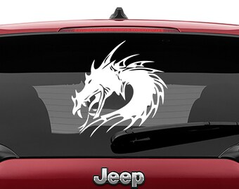 Celtic Dragon Laptop Decal | Celtic Dragon Car Decal | Celtic Dragon Tumbler Decal