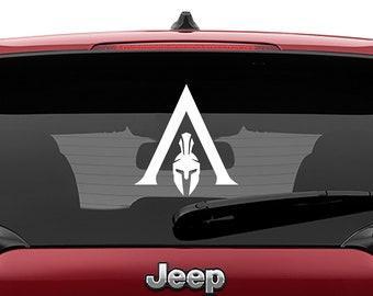 Assassins Creed Odyssey Vinyl Decal | Assassins Creed Odyssey Tumbler Decals | Assassins Creed Odyssey Laptop Decal