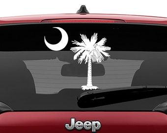 Palmetto State South Carolina Vinyl Decal | Palmetto State SC Tumbler Decal | South Carolina State Tree Laptop Decal