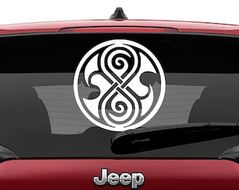 Doctor Who Inspired Seal of Rassilon Vinyl Decal