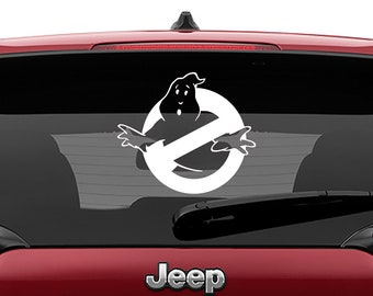 Ghostbusters Logo Decal | Ghostbusters Logo Tumbler Decal | Ghostbusters Logo Laptop Decal