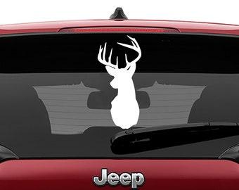 Buck Head Laptop Decal | Buck Head Car Decal | Buck Head Tumbler Decal