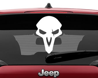 Overwatch Reaper Decal Vinyl Decal | Overwatch Reaper Tumbler Decals | Overwatch Reaper Laptop Decal