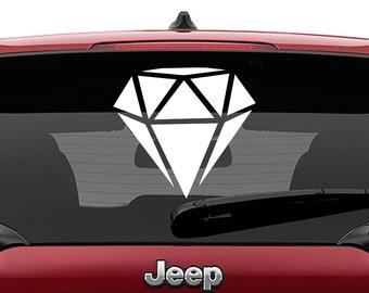 Diamond Facet Vinyl Decal | Diamond Facet Tumbler Decal | Diamond Facet Laptop Decal